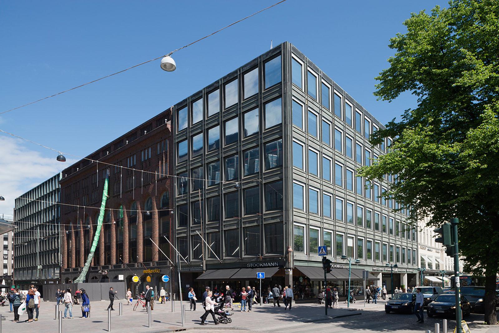 Akateeminen kirjakauppa ja Rautatalo. Kuva: Jaana Maijala
