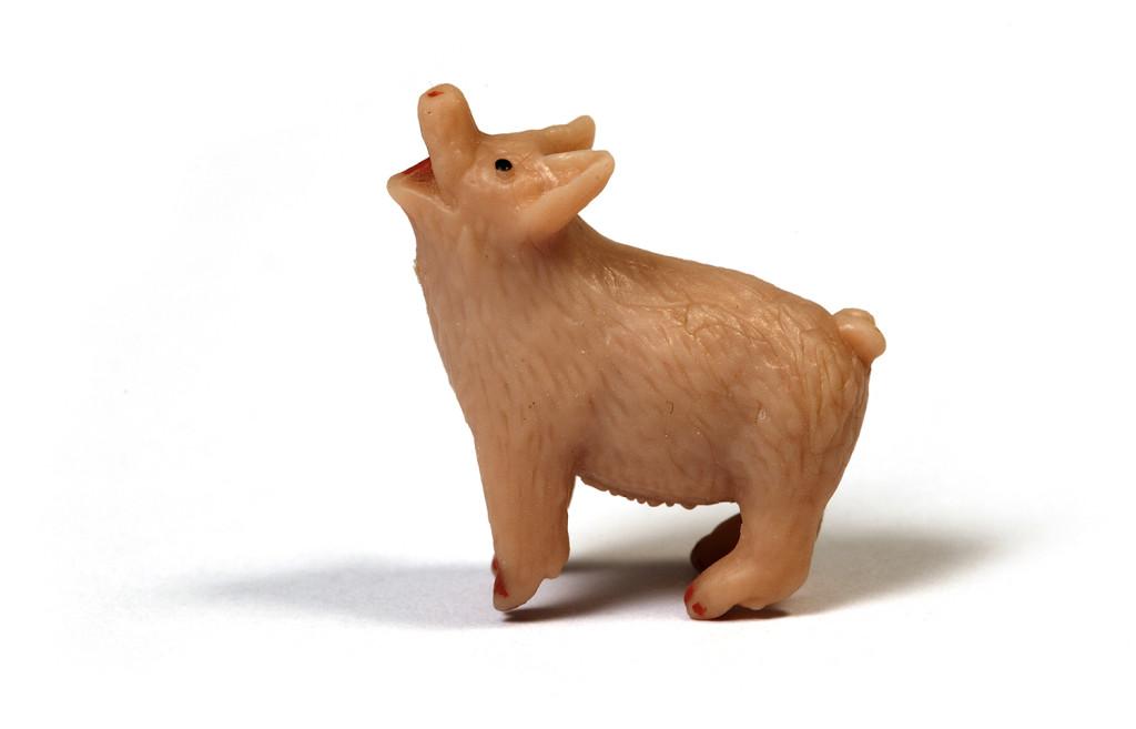 A little rubber piggy