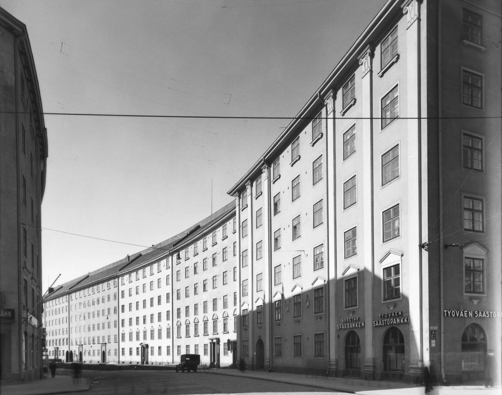 Linkki tapahtumaan Etu-Töölön klassismi -arkkitehtuurikävely