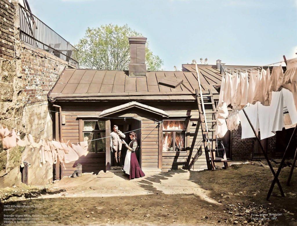 Puutalo 1907 Kristianinkadulla