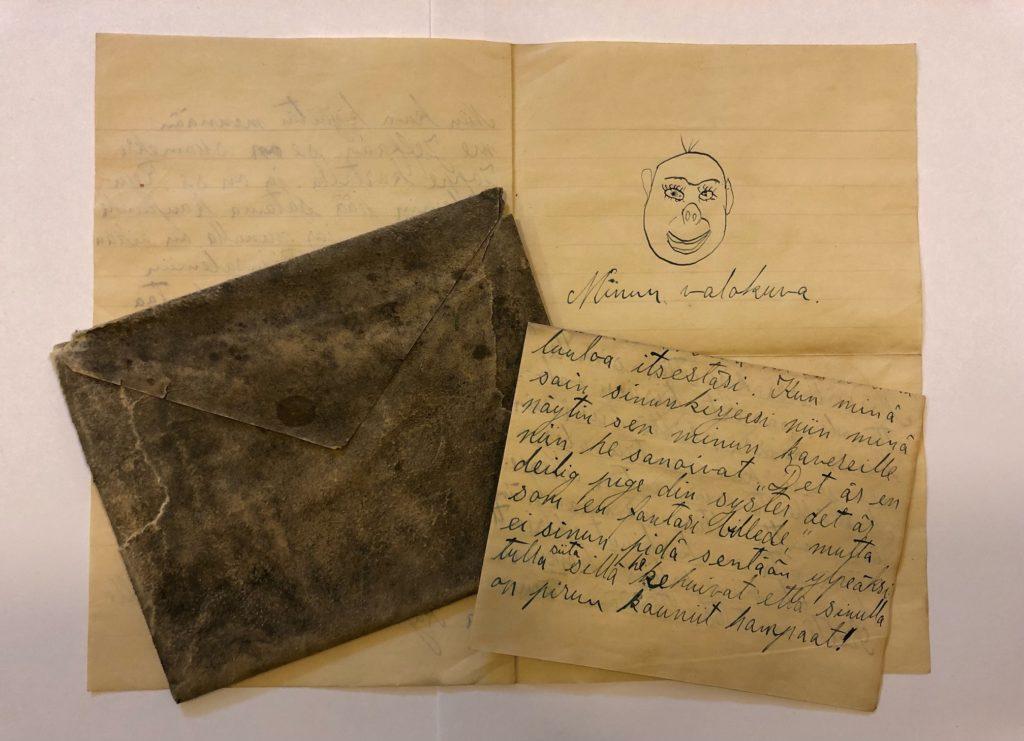 Vanhoja kirjeitä